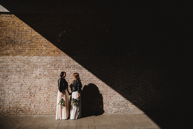 Motel studio hoxton arches wedding photographer east london